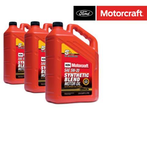 Motorové oleje MOTORCRAFT