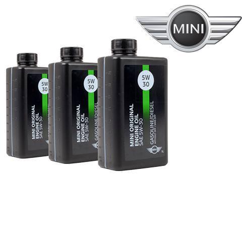 Motorové oleje MINI