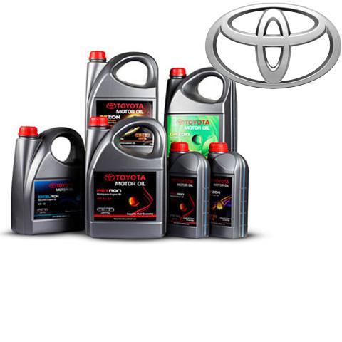 Motorové oleje TOYOTA