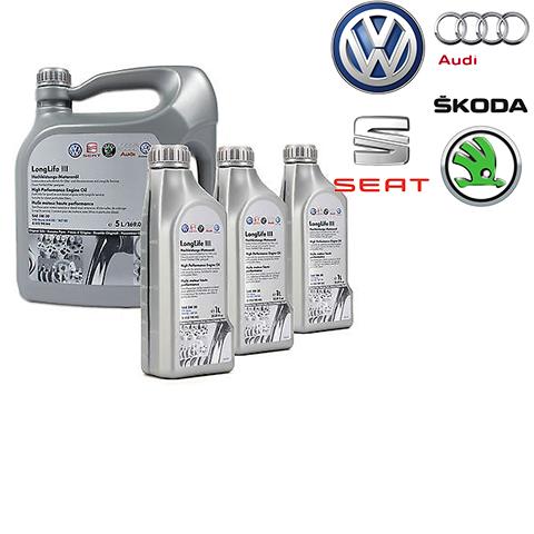 Motorové oleje OE - VW, AUDI, SEAT, ŠKODA
