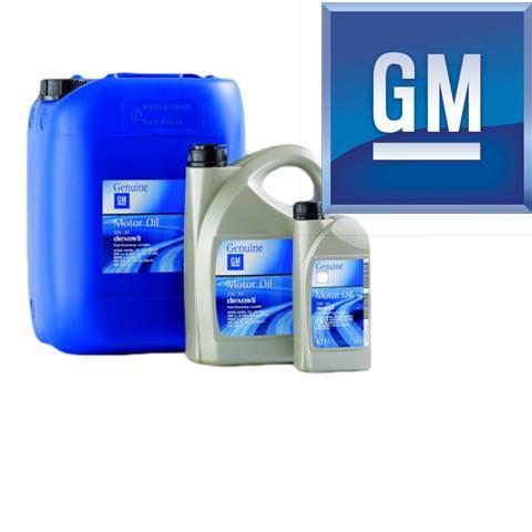 Motorové oleje GM