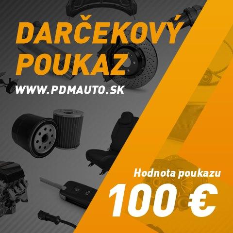 Darčekový kupón PDMauto 100€